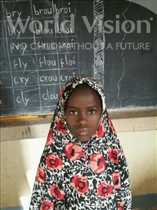 Choose a child to sponsor, like this little girl from Komabangou, Mardiya age 9