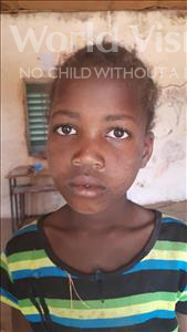 Choose a child to sponsor, like this little girl from Komabangou, Mahaza age 8