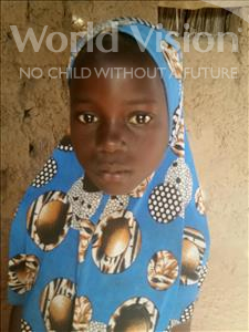 Choose a child to sponsor, like this little girl from Komabangou, Safaraou age 7