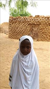 Choose a child to sponsor, like this little girl from Komabangou, Aissatou age 7