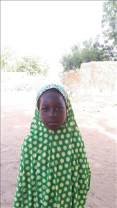 Choose a child to sponsor, like this little girl from Komabangou, Indatou age 7