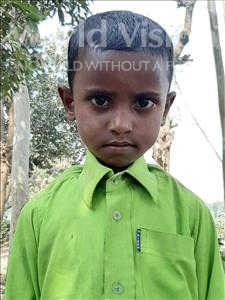 Choose a child to sponsor, like this little boy from Sarlahi, Rakesh age 6