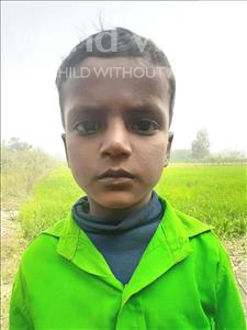 Choose a child to sponsor, like this little boy from Sarlahi, Anmol Kumar age 6