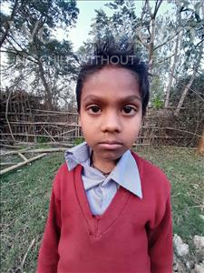 Choose a child to sponsor, like this little boy from Sarlahi, Mohamad Kaunen age 8