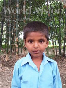 Choose a child to sponsor, like this little boy from Sarlahi, Sojit age 8