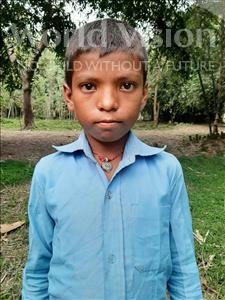 Choose a child to sponsor, like this little boy from Sarlahi, Rabi Kisan age 11