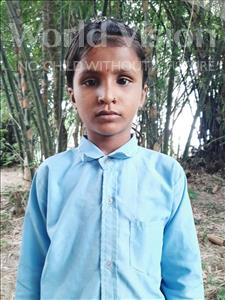 Choose a child to sponsor, like this little girl from Sarlahi, Priti Kumari age 8