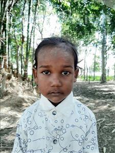Sanskar Kumar, aged 3, from Nepal, is hoping for a World Vision sponsor