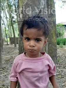 Choose a child to sponsor, like this little girl from Sarlahi, Riya age 2