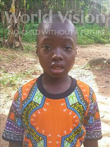 Choose a child to sponsor, like this little boy from Imperi, Andrew age 7