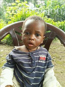 Choose a child to sponsor, like this little girl from Imperi, Susan Jeneba Fode age 2