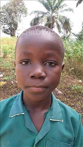 Choose a child to sponsor, like this little boy from Jaiama Bongor, Mathew age 11