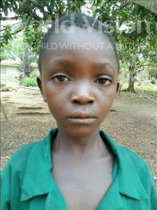 Choose a child to sponsor, like this little boy from Jaiama Bongor, Mohamed Bockarie age 9