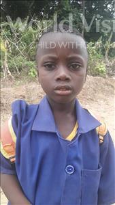 Choose a child to sponsor, like this little boy from Jaiama Bongor, Siaka age 7