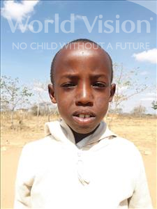 Choose a child to sponsor, like this little boy from Kilimatinde, Dickson Isaya age 10