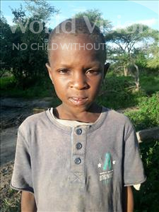 Choose a child to sponsor, like this little boy from Kilimatinde, Daudi Maganga age 9