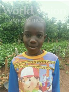 Choose a child to sponsor, like this little girl from Kibiga-Mulagi, Restisha age 10
