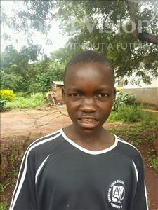 Vicent, aged 11, from Uganda, is hoping for a World Vision sponsor