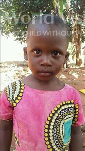 Choose a child to sponsor, like this little girl from Kibiga-Mulagi (Kimu), Rhoda age 3