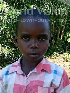 Leonard, aged 4, from Uganda, is hoping for a World Vision sponsor