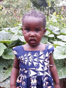 Grace, aged 3, from Uganda, is hoping for a World Vision sponsor