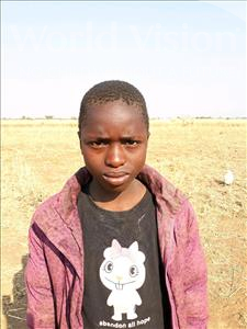 Choose a child to sponsor, like this little boy from Keembe, Eddie age 12
