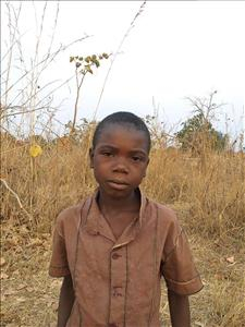 Kalengo, aged 8, from Zambia, is hoping for a World Vision sponsor