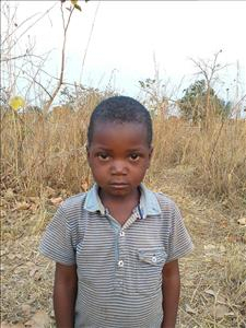 Choose a child to sponsor, like this little boy from Keembe, Alick age 5