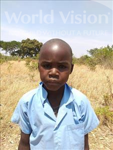 Choose a child to sponsor, like this little boy from Keembe, Alex age 7