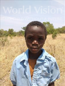 Choose a child to sponsor, like this little boy from Keembe, Slavia age 7