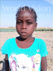 Choose a child to sponsor, like this little girl from Keembe, Amica age 7
