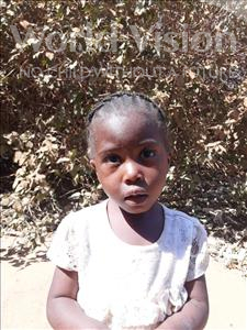 Choose a child to sponsor, like this little girl from Suwila, Vanesa age 3